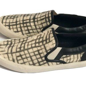 Lucky Brand Shoes 8.5M Sneakers Black/crm Slip On